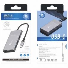 LT PLUS A8648 USB-C MULTI-FUNCTION DOCK STATION 4K HD