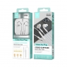 IKREA WC8284 AURICULARES STEREO 3ª GENERACIÓN ABS+TPE 3.5MM 1.2M BLANCO