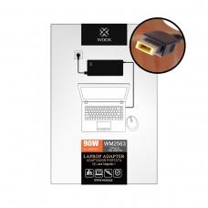 WOOX WM2563 CARGADOR DE PORTÁTIL 20V/4.5A FLAT USB PIN FOR LENOVO 90W