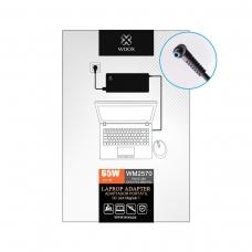 WOOX WM2570 CARGADOR DE PORTÁTIL 19V/3.33A DC4.5*3.0 WITH PIN FOR HP 65W