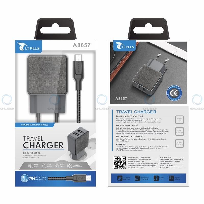 ot7+ot4 USB Cargador viaje cable cargador medion Life p44008 md86646 envío rápido ✔