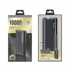 LT PLUS D5006 POWER BANK ULTRA DELGADO 10.000MAH NEGRO