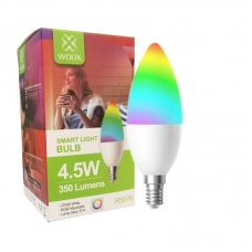 WOOX R5076 SMART LED LIGHT BULB 4.5W 2700K
