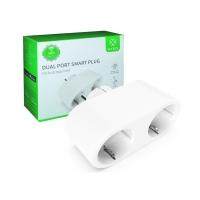 WOOX R6073 DUAL SMART PLUG BLANCO