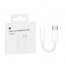 APPLE ADAPTADOR DE USB-C A TOMA PARA AURICULARES