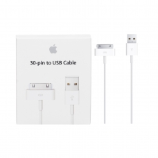 APPLE CABLE DE CONECTOR DE 30 PIN A USB BLANCO