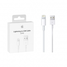 APPLE CABLE DE CONECTOR LIGHTNING A USB 2M BLANCO