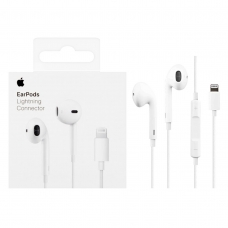 APPLE AURICULARES BLANCO EARPODS CON CONECTOR LIGHTNING PARA IPHONE