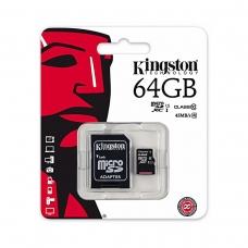 KINGSTON MICRO SD DE 64GB CLASE 10 45MB/S