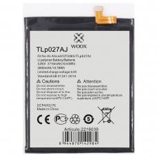 WOOX BATERÍA TLP027AJ PARA ALCATEL A5 A5 LED/OT5085 2800MAH 3.85V 10.78WH