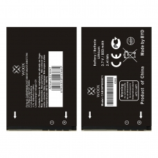 WOOX BATERÍA CAB30P0000C1 PARA  ALCATEL OT800/OT802/OT808/OT799/OT799A/OT802Y/OTE206C 850MAH 3.7V 3.15WH