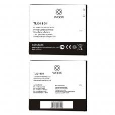 WOOX BATERÍA TLI018D1 PARA ALCATEL POP D5/POP 3 5.0/OT5015/OT5038 1800MAH 3.8V 6.85WH