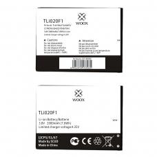 WOOX BATERÍA TLI020F1 PARA ALCATEL C7/ROYA/5042D/7040/7041 2000MAH 3.8V 7.6WH