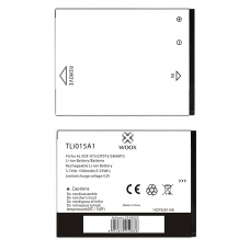 WOOX BATERÍA TLI015A1 PARA ALCATEL VDF-975/OT975/SMART 3 1500MAH 3.7V 5.55WH