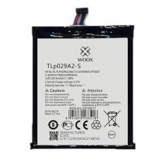 WOOX BATERÍA TLP029A2-S PARA ALCATEL TLP029A2 IDOL 3 5.5/OT6045/OT5025 2910MAH 3.8V 11.1WH