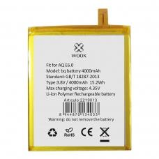 WOOX BATERÍA PARA BQ AQUARIS E6 4000MAH 3.8V 15.2WH