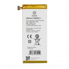 WOOX BATERÍA HB444199EBC PARA HUAWEI HONOR 4C/G PLAY MINI 2550MAH 3.8V 9.7WH