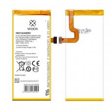 WOOX BATERÍA HB3742A0EBC PARA HUAWEI P6/G6/P6-U06/P6-C00/P6-T00/G620/G621/G620S/G630 2000MAH 3.8V 7.6WH