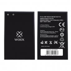 WOOX BATERÍA HB505076RBC PARA HUAWEI Y600/A199/G610/G710/G606/G700/G716/Y3 II 2150MAH 3.8V 3.2WH