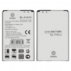 WOOX BATERÍA BL-41A1H PARA LG LS660/F60/D390 2020MAH 3.8V 7.7WH