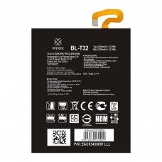 WOOX BATERÍA BL-T32 PARA LG G6/H870/H871/H872/LS993/VS998 3230MAH 3.8V 12.3WH