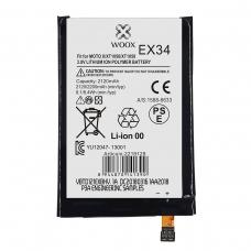 WOOX BATERÍA EX34 PARA MOTO X/XT1056/XT1058 2120MAH 3.8V 8.1WH