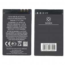 WOOX BATERÍA BL-4CT PARA NOKIA 5310/7230/X3/6700S/5630/7310C 890MAH 3.7V 3.2WH