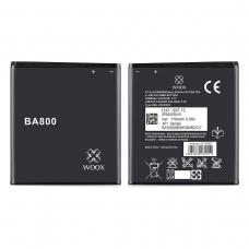 WOOX BATERÍA BA800 PARA SONY XPERIA S/V/ARC/VLT25I/LT26I 1700MAH 3.7V 6.3WH