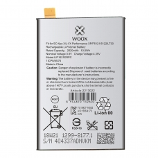 WOOX BATERÍA PARA SONY XPERIA X/L1/X PERFORMANCE XP/F5121/5122/LT30 2620MAH 3.8V 10WH