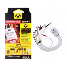 OSS TEAM W103+ all in 1 cable de alimentación para iPhone 4-8G/8P/X/XR/XS/XS MAX