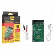 W209A+ herramienta de activación y carga rápida para batería para iPhone 4-8G/8P/X/XR/XS/XS MAX/SAM