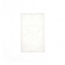 Almohadilla de goma blanca con agujeros