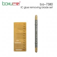 BAKU 7380-A cuchillo removedor de pegamento multiuso