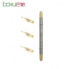 BAKU 7380-B cuchillo removedor de pegamento para chip IC
