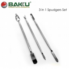 BAKU BK-3 in1 Set de pala acero para apeturta