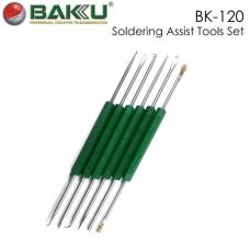 BAKU BK-120 Set de herramientas auxiliar para soldar