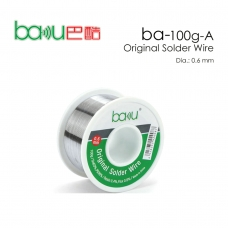 BAKU BK-100G-A 0.6MM alambre de estaño 0.6mm