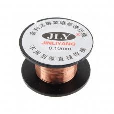 JLY alambre de cobre para soldadura 0.1mm