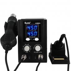 KAISI K-8586+ estacion de aire caliente con soldadura