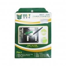 BEST BST-326 kit 7 en 1 BGA plataforma de reparación