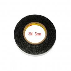 3M cinta doble cara negra 5mm