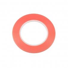 Cinta doble cara roja 1mm