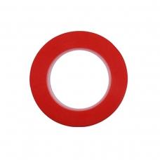 Cinta doble cara rojo 3mm