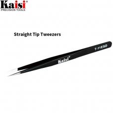 KAISI ESDT-11 pinza profesional de punta recta y fina