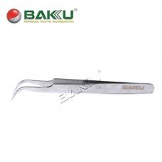 BAKU BK-A8 7 pinza profesional punta curvada