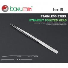 BAKU BK-i5 SS -SA  pinza profesional punta recto