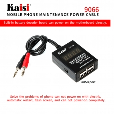 KAISI 9066 cable alimentacion para ISO y Androit