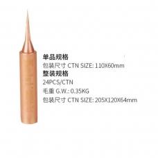 KAISI 900M-T-I recambio de soldadura de punta fina recto de cobre