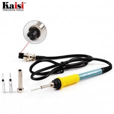 KAISI 907-B cautín de punta fina para soldadura con agujero