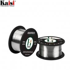 KAISI HST 0.3 NEGRO alambre de estaño